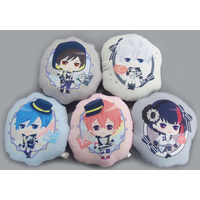 (Full Set) Die-cut Cushion - B-Project: Kodou*Ambitious