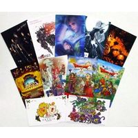 Greeting Card - Postcard - Final Fantasy IV / King (Type-0)