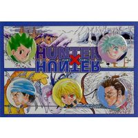Badge - Hunter x Hunter / Kurapika & Gon & Killua & Leorio Paladinight