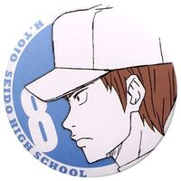Badge - Ace of Diamond / Toujo Hideaki