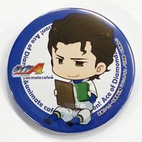 Trading Badge - Ace of Diamond / Chris Yū Takigawa