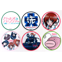 (Full Set) Patch - GIRLS-und-PANZER / Miho & Anglerfish Team