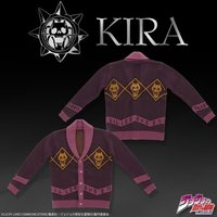 Cap - Cardigan - Jojo Part 4: Diamond Is Unbreakable / Kira Yoshikage Size-M