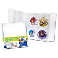 Rubber Strap and Badge Folder for 32 items