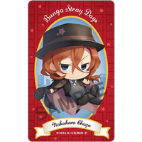 Card Stickers - Bungou Stray Dogs / Nakahara Chuuya