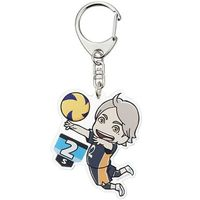 Trading Acrylic Key Chain - Haikyuu!! / Karasuno High School & Sugawara