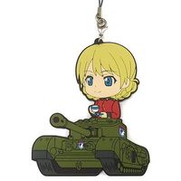 Rubber Strap - Kyun-Chara Illustrations - GIRLS-und-PANZER / Darjeeling