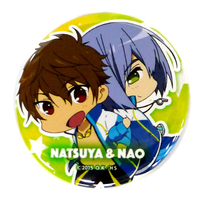 Trading Badge - High Speed! / Kirishima Natsuya & Serizawa Nao