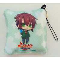 Mini Cushion - Cleaner Strap - Hakuouki / Souji Okita