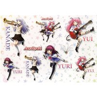 Stickers - Angel Beats! / Kanade & Yuri & Yui