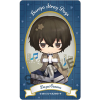 Card Stickers - Bungou Stray Dogs / Dazai Osamu