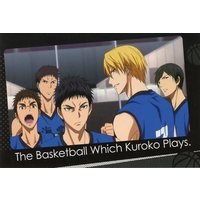 J-WORLD Limited - Postcard - Kuroko's Basketball / Kaijo High School