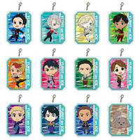 (Full Set) Acrylic Charm - Yuri!!! on Ice