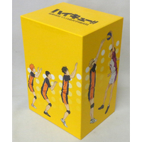 Whole volume storage BOX (No DVDs) - Haikyuu!!