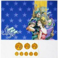 Desk Mat - Jojo no Kimyou na Bouken / Gyro & Johnny