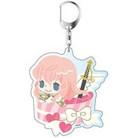Big Key Chain - Binan Koukou Chikyuu Bouei-bu Love! / Gero Akoya