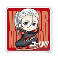 Acrylic Badge - Yuri!!! on Ice / Victor Nikiforov