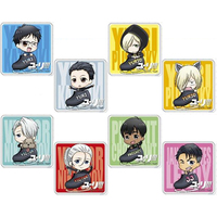 (Full Set) Acrylic Badge - Yuri!!! on Ice
