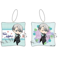Cushion Key Chain - Yuri!!! on Ice / Victor Nikiforov