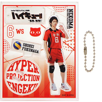 Acrylic stand - Haikyuu!! / Fukunaga Shouhei & Karasuno High School
