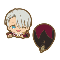 Nokkari Rubber Clip - Yuri!!! on Ice / Victor Nikiforov