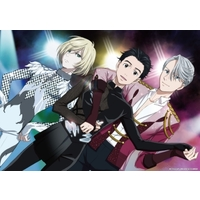 Poster - Yuri!!! on Ice / Victor & Yuuri & Yuri