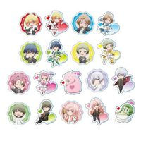 (Full Set) Acrylic Badge - Binan Koukou Chikyuu Bouei-bu Love!