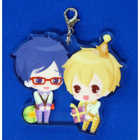 Acrylic Charm - High Speed! / Nagisa & Rei