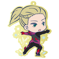 Rubber Clip Badge - Yuri!!! on Ice / Yuri Plisetsky