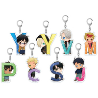 (Full Set) Acrylic Key Chain - Yuri!!! on Ice