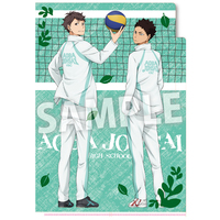 Plastic Folder - Haikyuu!! / Aoba Jyousai High School