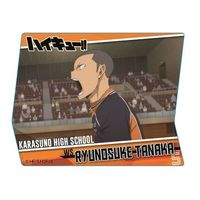 Acrylic Badge - Haikyuu!! / Tanaka & Karasuno High School