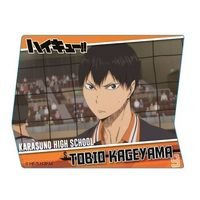 Acrylic Badge - Haikyuu!! / Kageyama & Karasuno High School