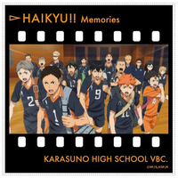 Microfiber Towel - Haikyuu!! / Karasuno High School