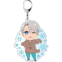 Big Key Chain - Yuri!!! on Ice / Makkachin & Victor