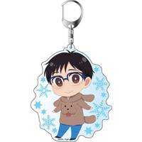 Big Key Chain - Yuri!!! on Ice / Makkachin & Yuuri