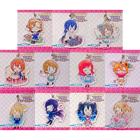 (Full Set) Trading Acrylic Key Chain - Love Live