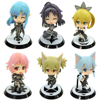 (Full Set) Chibi Kyun-Chara - Sword Art Online
