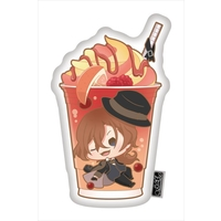 Die-cut Cushion - Charappuccino - Bungou Stray Dogs / Nakahara Chuuya