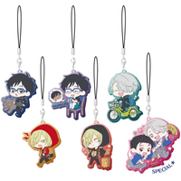 (Full Set) Rubber Strap - Yuri!!! on Ice / Yuuri & Victor & Yuri