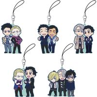 (Full Set) Rubber Strap - Yuri!!! on Ice / Otabek Altin & Victor & Yuuri & Yuri