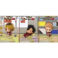 (Full Set) Figure (Kyun-Chara) - Haikyuu!! / Kuroo & Kenma & Yaku Morisuke & Nekoma High School