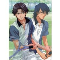 Illustration Sheet - Prince Of Tennis / Atobe & Yushi