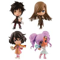 (Full Set) Chibi Kyun-Chara - Tales of the Abyss / Kongwai Tao & Tear & Jude & Meredy