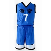 Costume Play - Kuroko's Basketball / Kaijo High & Kise Size-L