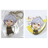 Trading Acrylic Key Chain - Heart Badge - A3!
