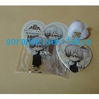 Heart Badge - Ring Light - Stand Key Chain - King of Prism by Pretty Rhythm / Kisaragi Louis