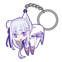 Tsumamare Key Chain - Re:ZERO / Emilia