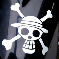 Cutting Stickers - ONE PIECE / Monkey D Luffy