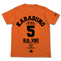 T-shirts - Haikyuu!! / Tanaka & Karasuno High School Size-M